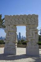 parque abrasha em jaffa (israel) foto