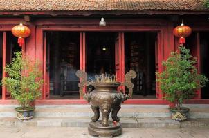 templo da china no vietnã foto