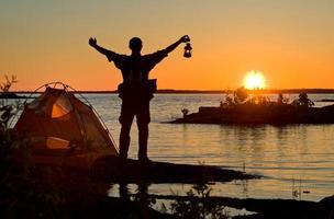 acampamento foto