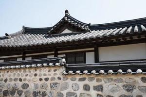 hanok house korea foto