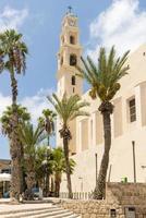 mosteiro católico em jaffa, israel foto
