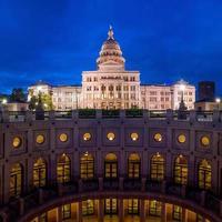 capitólio do estado do texas em austin, tx. foto