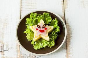 refeição criativa para criança. foto