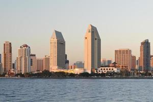 skyline de san diego foto