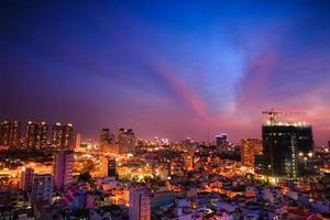 nova construção na cidade de ho chi minh-vietnã