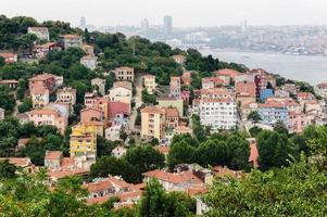 paisagem urbana de Istambul foto
