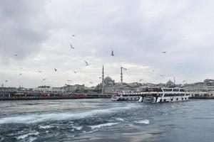 tráfego marítimo em Istambul, Bósforo