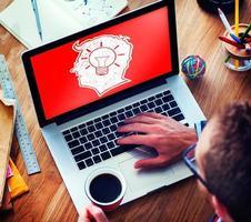 idéia criativa criatividade imginação inovar pensando conceito