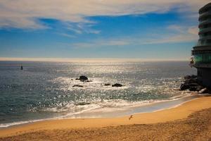 praia, viña del mar, chile foto