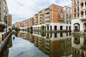 prédios de apartamentos suburbanos em hangzhou, china