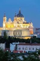 catedral de almudena madrid foto