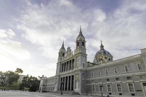 Catedral de Almudena foto