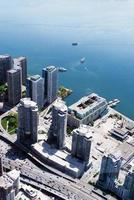 paisagem urbana de toronto canadá foto