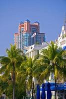 praia sul de miami florida foto