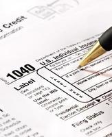 formulários fiscais dos eua foto