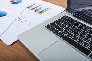 cálculo de negócios financeiros foto