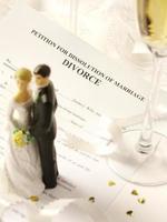 pedido de dissolução do casamento foto
