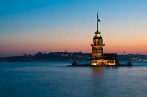 istambul kiz kulesi foto