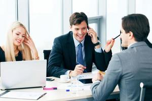 reunião de negócios foto