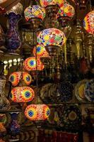 lâmpadas turcas tradicionais
