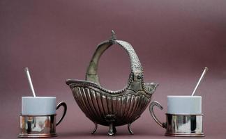 conjunto de café turco foto