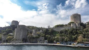 castelo da europa no bósforo foto