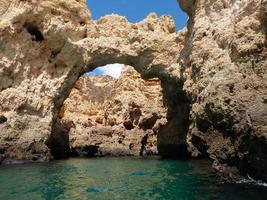 lagos de gruta foto