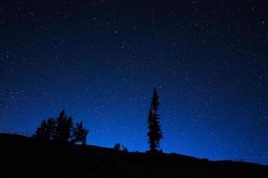 céu noturno de wyoming
