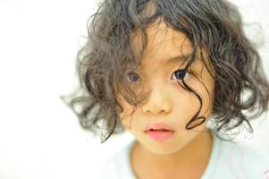 criança bonita asiática foto