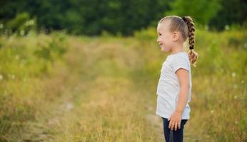 retrato de uma criança foto