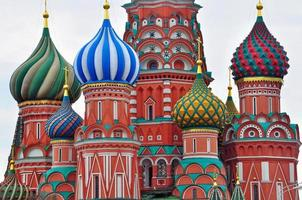 cúpulas da catedral de Moscou foto