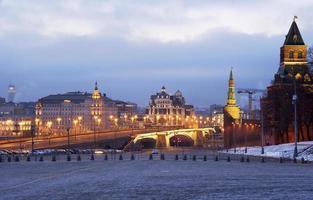 Moscou. descida vasilevsky. foto