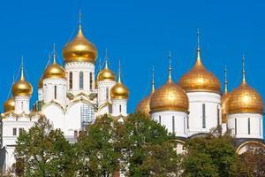 catedrais de moscovo kremlin foto