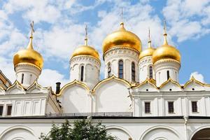 Catedral da Anunciação em Moscou no kremlin foto