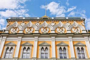 decoração do palácio do grande kremlin em Moscou foto