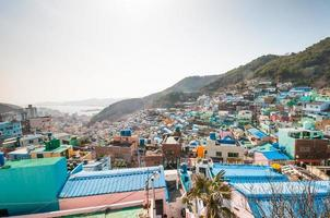 gamcheon cultura vila foto