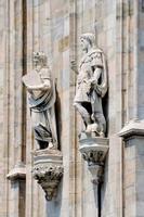 catedral duomo, milão, itália foto