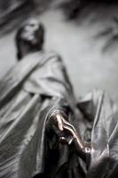 escultura da catedral de virgem maria e de jesus, milão foto