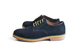 sapatos masculinos de camurça
