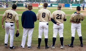 jogadores de beisebol foto