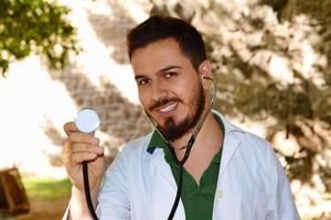 médico masculino foto