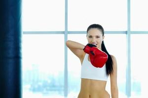 boxer feminino foto