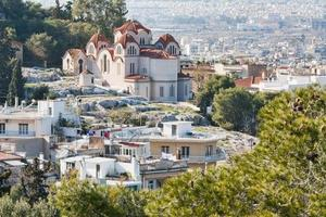 igreja de agia marina em atenas, grécia foto