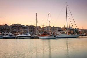 Zea Marina no Pireu, Atenas.
