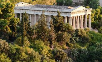 templo de mármore foto