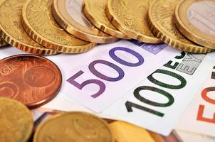 dinheiro euro foto