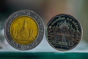 dinheiro tailandês foto