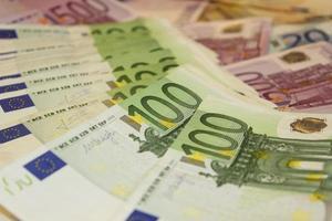 pilha de dinheiro foto