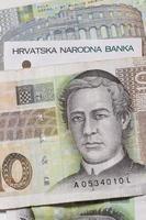 coroa checa de dinheiro foto