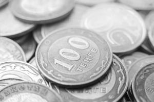 dinheiro cazaque - tenge foto